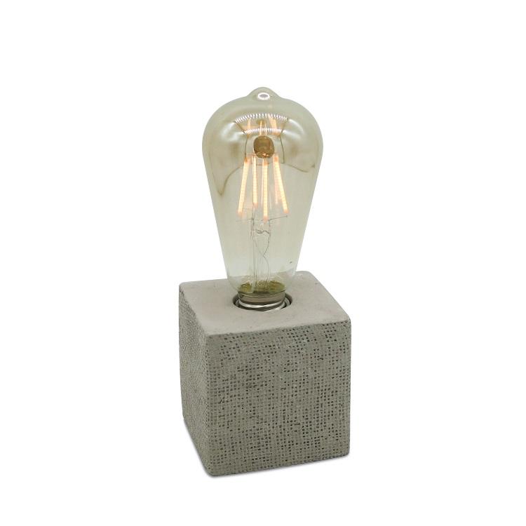 新设计的水泥台灯,基础灯,混凝土台灯爱迪生灯