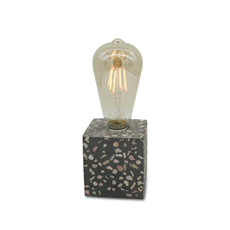 新设计水泥便携式灯具台灯水磨石灯台灯家居装饰