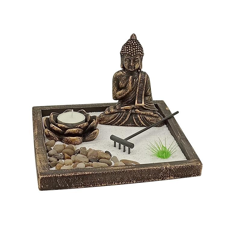 佛教艺术桌面花园风水工艺品送礼禅宗花园
